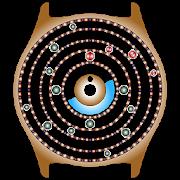 Planetary Clock Wallpaper Full 15