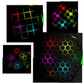 Honeycomb Plasma LiveWallpaper 1.8