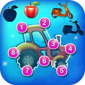 Preschool Educational - Connect Dot, Puzzle, Color 1.0
