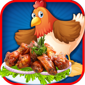 Crazy kitchen chicken wings–cooking tasty treats 1.0