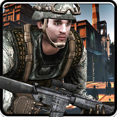 Frontline Army commando - Futuristic War Shooting