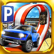 3D Monster Truck Parking Game 2.1