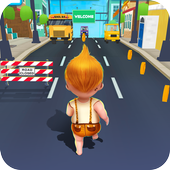 Baby Boots Run - City Travel 1.0