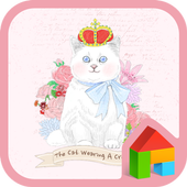 Crowned cat Dodol Theme