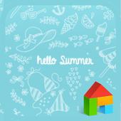 Hello Summer dodol theme