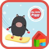 littlepiggy winter dodol theme 4.1
