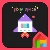 pixel space dodol theme 4.1