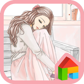 to girl pure dodol theme 4.1