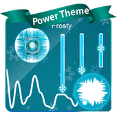 Frosty Poweramp Skin 1.3 Raw Umber