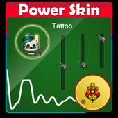 Tattoo PowerAmp Skin 2.3