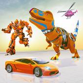 Transform Dino Car Robot:Free Dinosaur Battle Game 1.0