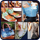 DIY Refashion Recycled Old Clothes Crafts Idea New 20
