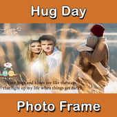 Happy Hug Day Wishes Photo Frame & Collage Maker 1.0