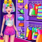 Unicorn Rainbow Makeover - Dress up & Makeup Game 1.3