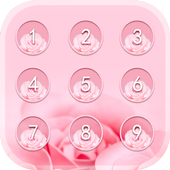 Applock Theme Rose 1.1.2