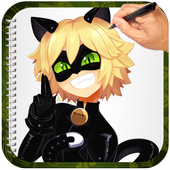How To Draw Cat Noir 1.0