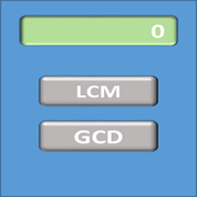 LCM-GCD Calculator 1.01