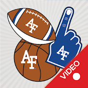 Air Force Falcons Animated Selfie Stickers