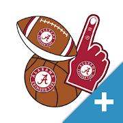 Alabama Crimson Tide PLUS Selfie Stickers 3.0.0