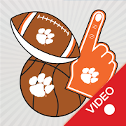 Clemson Tigers Selfie Stickers Animated 7.0.0