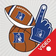 Duke Blue Devils Selfie Stickers Animated 7.0.0