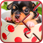Cute Dogs Jigsaw Puzzle 4.3