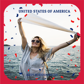 National Day USA Photo Editor Pro 1.0