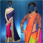 Saree Blouse Photo Suit - indian saree blouse blur 4.0