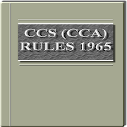 India - Central Civil Services Rules, 1965 1.52