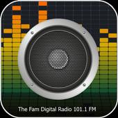 101.1 FM Radio The Fam Digital 1.1