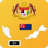 Malaysia State Maps, Flags and Capitals 1.0.0