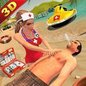 Lifeguard Beach Rescue ER Emergency Hospital Games 15