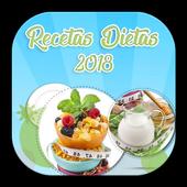 Recetas Dietas Saludables Fáciles 2018 1.0.0