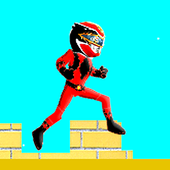 Red Rangers Jumping Game 1.1
