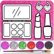 Glitter beauty coloring and drawing 4.1