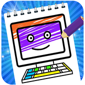 Coloring Laptop, Mobile Phone & Smartphone 1.1