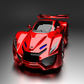 Red Car Live Wallpaper 1.1