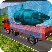 Transport Truck Shark Aquarium 1.7