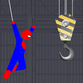 Spider Rescue Hero - Rope Swing 4.0