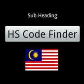 HS Code Finder (Malaysia) hs1.13