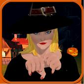 Haloween Pumpkin Witch Revenge