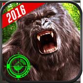 Gorila Hunting Jungle Sniper