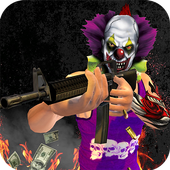 Gangster Clown Robbery Escape