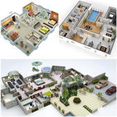 3D Home Planner Design Ideas and Inspirations 1.0