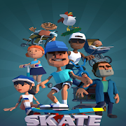 Skate Boy Runner - Endless Running Game 1.0