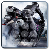 Motorbike Racing Lock Screen 1.0