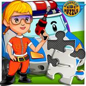 Kids Puzzle Robot Car 1.5