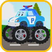 Big Wheels Robocar Poli Game 1.0