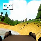 VR Dreamy Low Poly Train Ride 1.3
