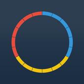 Flat design game : CircleDots 1.0